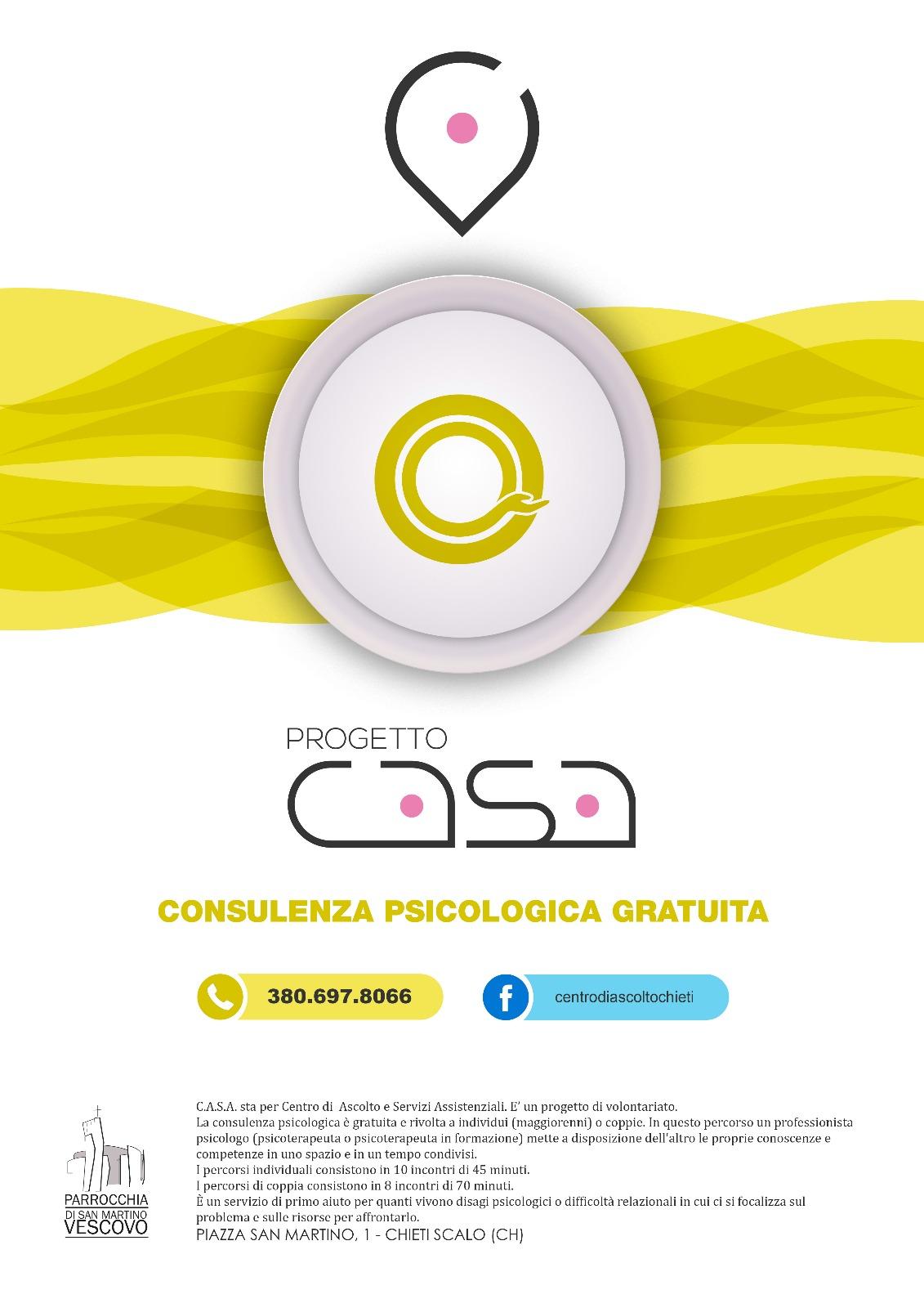 C.A.S.A. (Centro di Ascolto e Servizi Assistenziali)
