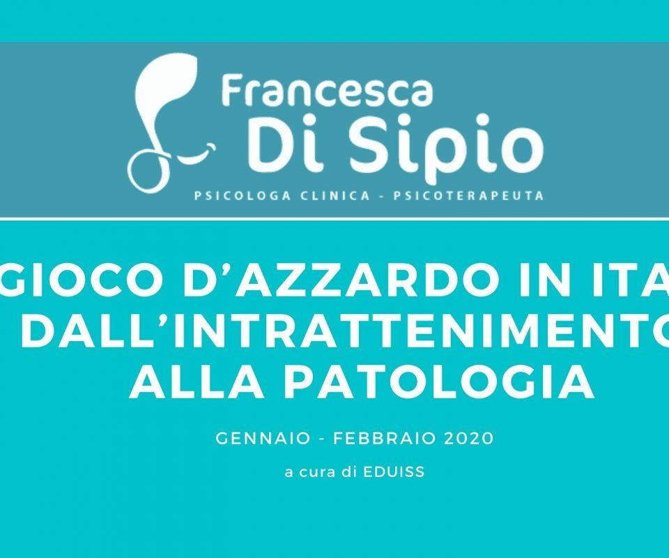 Il gioco d'azzardo in Italia: dall'intrattenimento alla patologia